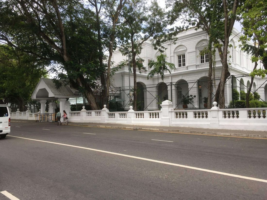 Presidents House in Colombo.